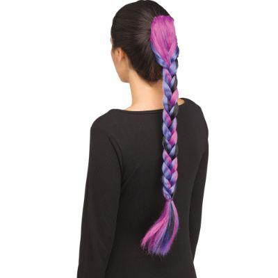 Dark Unicorn Clip In Braid