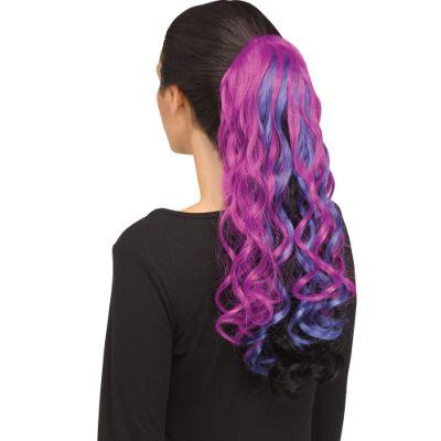 Dark Unicorn Clip In Curly Tail