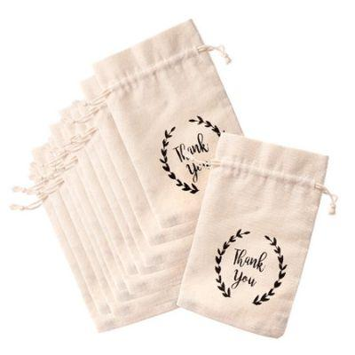 Favor Bags Thank You Drawstring