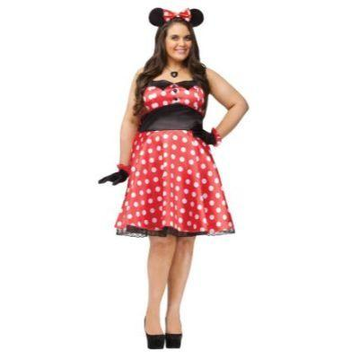 Retro Miss Mouse Adult Costume