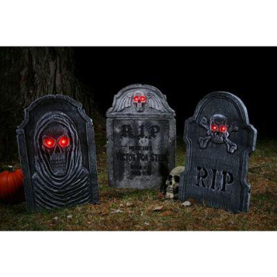 Light Up Tombstones