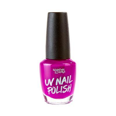 Neon Uv Nail Polish Purple