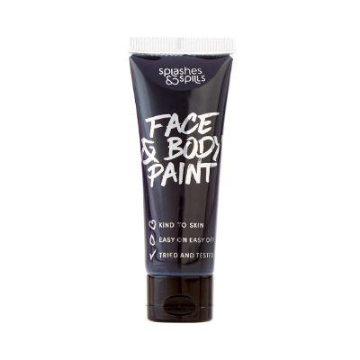 Body Paint Tube Black