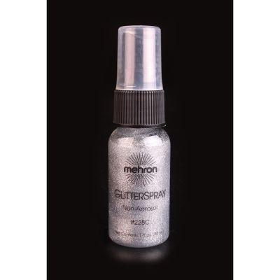 Glitter Spray Silver 1oz