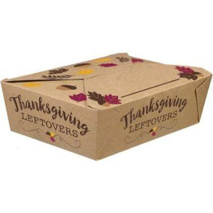 Thanksgiving To Go Box - 5 Pack
