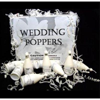 Wedding Poppers - 72 Pack