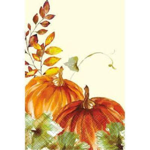 Watercolor Fall Guest Towel Napkins - 16 Pack