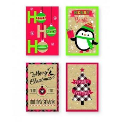 Contemporary Christmas Cards - Assorted