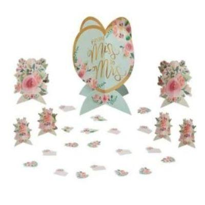 Mint To Be Floral Centerpiece Table Decoration Kit