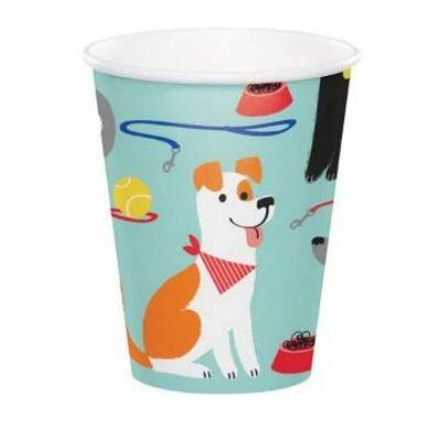 Dog Party Cup 9 oz. - 8 Pack
