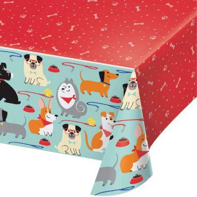 Dog Party Tablecover - 54