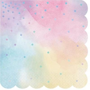 Iridescent Luncheon Napkin - 16 Pack