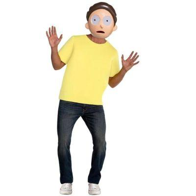 Morty Adult Costume
