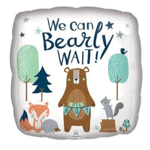 Bearly Wait Mylar Balloon 18""