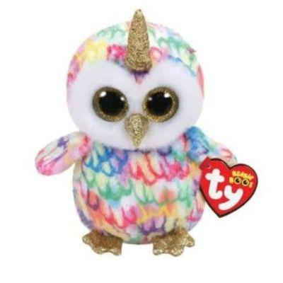 Ty Beanie Boos Enchanted Owlicorn 8