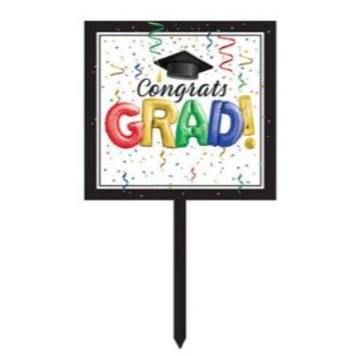 In-Store Only - Congrats Grad Yard Sign