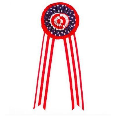 Patriotic Red White & Blue Bow 26.5