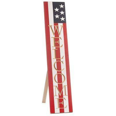 USA Welcome Porch Sign 47