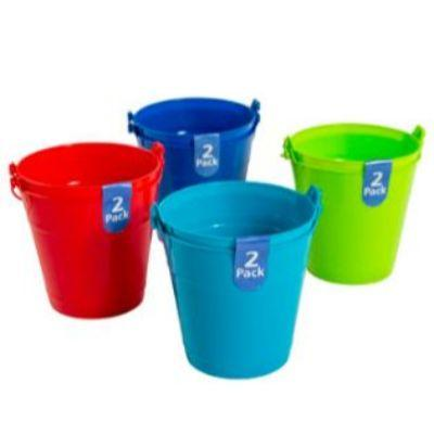 Bright Colorful Bucket 5