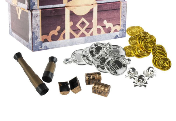 Pirate Treasure Party Favors - Assorted