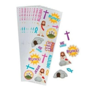 He Lives Sticker Sheet - 24 Pack