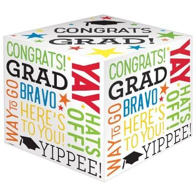 Graduation Multicolor Greeting Box Holder