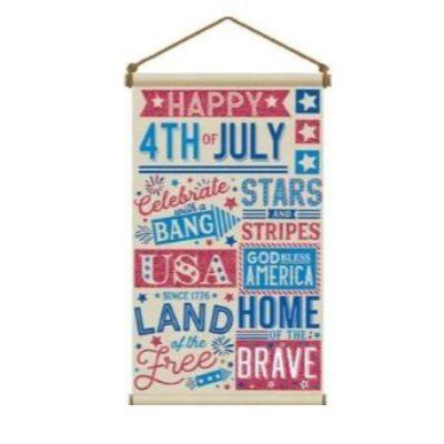 Happy 4th Of July Canvas Sign 31