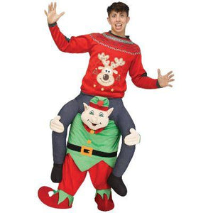 Elf Piggyback Adult Costume