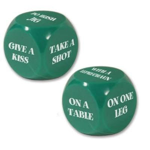 St. Patrick's Day Decision Dice
