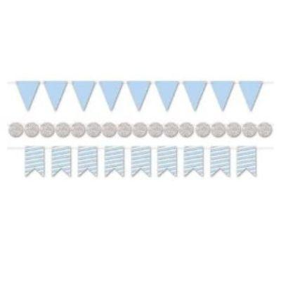 Baby Blue Streamer Kit - 3 Pack