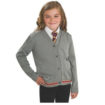 Harry Potter Hermione Cardigan & Tie Child Costume Kit