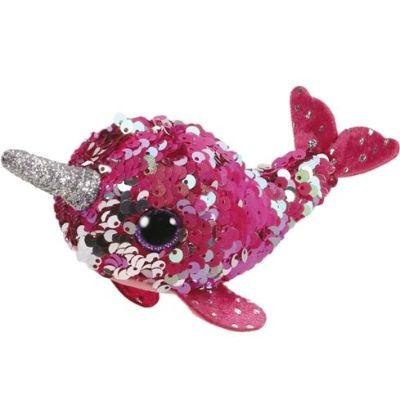 Teeny Ty Sequin Narwhal Nelly
