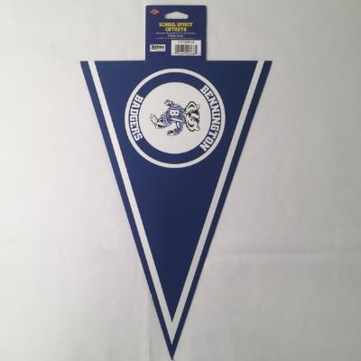 Bennington Badgers Pennant Cutout 14