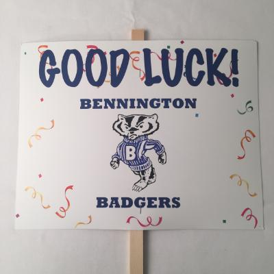 Bennington Badgers Yard Sign 14