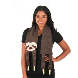Scarf Sloth Knit