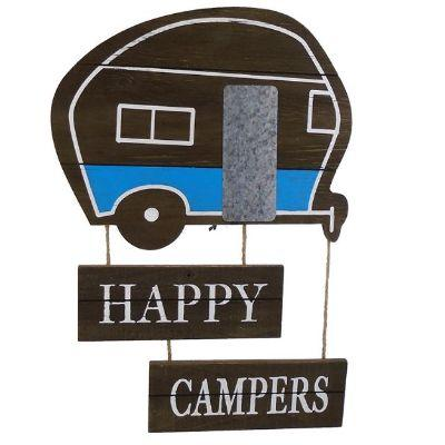 Happy Campers Wall Plaque 17