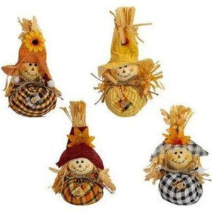"Scarecrow Table Decoration 7"" - Assorted"