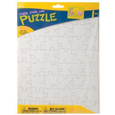 Color Your Own Puzzle 8