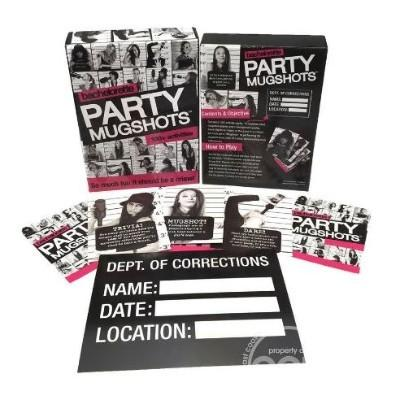 Bachelorette Party Mugshots Party Game