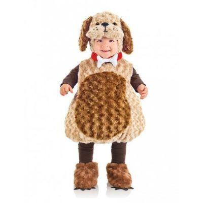 Brown Puppy Belly Baby Costume