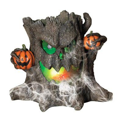 Smoking Haunted Stump Decoration 12