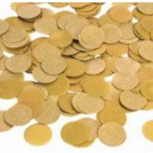 Confetti Gold Metallic .8 oz. Bag