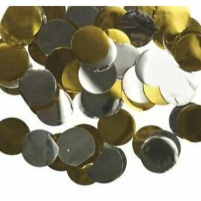 Confetti Gold & Silver Metallic .8 oz. Bag