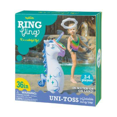 Unicorn Inflatable Ring Toss Game