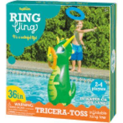 Tricera-Toss Inflatable Ring Toss Game