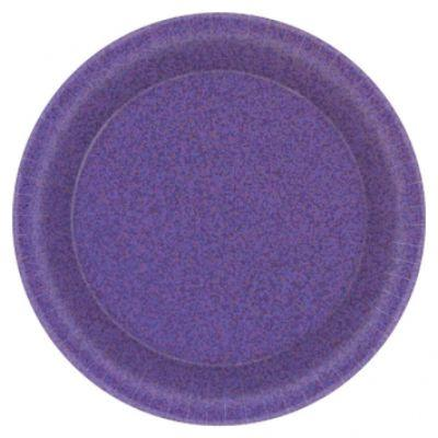 Prismatic Purple Dessert Plates 7