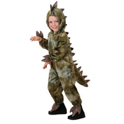 T-Rex Green Dinosaur Child Costume