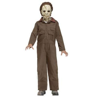 Michael Myers Coveralls Child Costume - Halloween