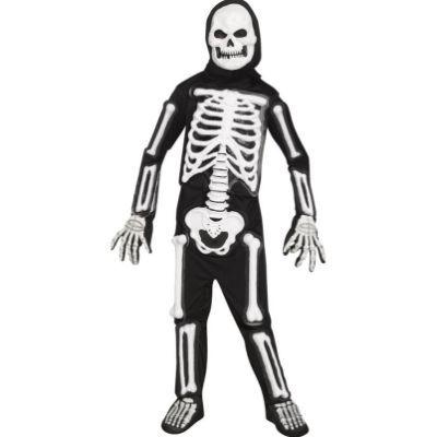 LED Skele-Bones Child Costume