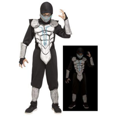 LED Lightning Ninja Child Costume